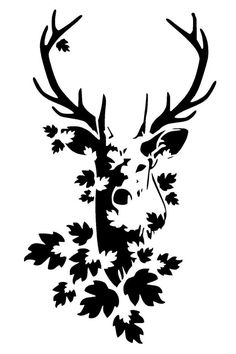 stag head stencil 1 craft,fabric,glass,furniture,wall art This awesome photo collec - Deer Stencil, Animal Stencil, Stencil Art, Wall Stenciling, Glass Engraving, Stag Head, Glass Furniture, Wood Burning Patterns, Stencil Patterns