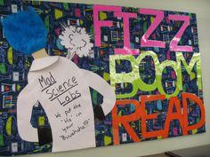 Love the blue hair - Fizz, Boom, Read