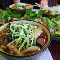 Bun Bo Hue An Nam in San Jose, CA - Bun Bo Hue An Nam provides an affordable opportunity to enjoy Vietnamese specialties like flavorful soup with beef and tripe, and bun bo hue broth offering a lemon grass taste. via @thewaytosanjose