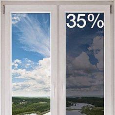 Buy Decorative Film Premium Heat Control Window Film, Chrome, Medium, Silver