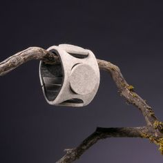 LUV!  eweCUFF Circles White now featured on Fab.