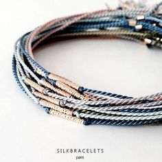 Silk diamondcut  925 silver * gold