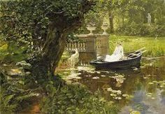 Image result for canoe painting