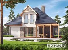 Astrid III G2 - projekt domu - Archipelag House Projects, Home Fashion, Shed, Outdoor Structures, Cabin, House Styles, Home Decor, Home, Decoration Home