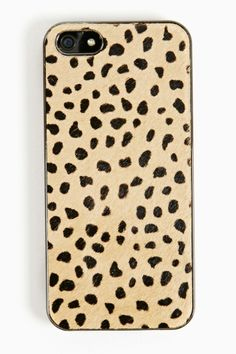 Pony Hair iPhone 5 Case in Leopard