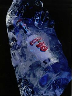 Corporate ice sculptures for your companies themed event, ideal for promotions, product launches and of course your Christmas party. #icesculpture #eventplanning #smirnoff #bottleicesculpture  #vodkaluge