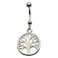 Tree of Life Navel Barbell