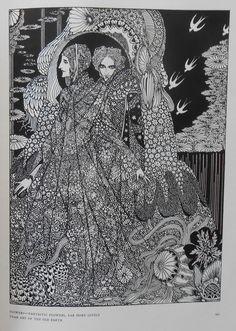 Geïllustreerd; Edgar Allan Poe - Tales of mystery and imagination. Illustrated by Harry Clarke - 1919