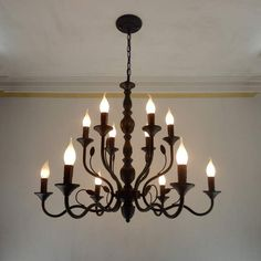 Retro Chandelier Lighting Black Wrought Iron Chandeliers for Dining Room Industrial Vintage Ceiling Chandelier Lighting Bedroom Black Iron Chandelier, Dining Chandelier, Cheap Chandelier, Wrought Iron Chandeliers, Industrial Chandelier, Rectangle Chandelier, Chandelier In Living Room, Dining Room Lighting, Bedroom Lighting