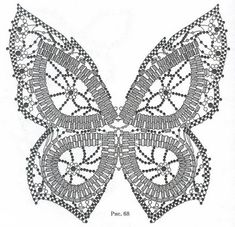 Free Beaded Butterfly Pattern featured in Bead-Patterns
