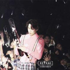 he is so effing cute #mybias #EXO #kai