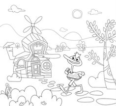 P. King Duckling Coloring Pages, Snoopy, Crafts, King, Fictional Characters, Art, Quote Coloring Pages, Art Background, Manualidades