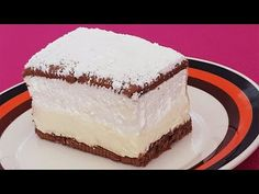 Cremsnit in 10 minute fara coacere / without baking No Cook Desserts, Vanilla Cake, Biscuits, Cheesecake, Deserts, Food And Drink, Ice Cream, Sweets, Baking