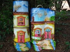 Decorated Roof Tiles