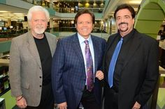 Merrill, Jimmy and Jay Osmond