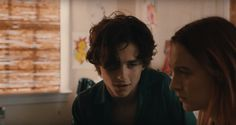 Image result for lady bird timothee chalamet scene