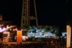 1962 Outdoor concert stage at the base of the Space Needle
