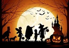 All Hallow's Eve. Halloween. Trick or treat.