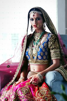 The DLF Emporio Bride in Tarun Tahiliani Couture