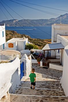 Milos, Plaka by Anagr Nice Place, Greek Islands, Landscapes, Places To Visit, Traveling, In This Moment, World, Outdoor Decor, Greece