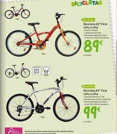 Bicicletas para Navidad 2014 en Carrefour
