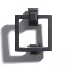 Deluxe Ring Cast Iron Door Knocker