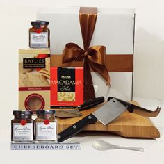 Cheese Board Gift Basket ♦ Delivery Melbourne, Sydney & Australia Wide $95