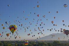 2016 Balloon Fiesta. 'Mass Ascension'.