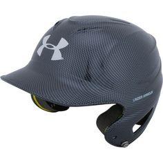 Under Armour® Adults' Tech Batting Helmet Silver - Baseball Equipment, Baseball Softball Accessories at Academy Sports