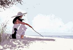 WORDS IN THE SAND by Pascal Campion