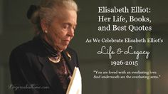 Young Jim and Elisabeth Elliott gave me a skin-on, flesh-and-blood example of people in my generation who were willing to give their all to Jesus. Elisabeth Elliot: Her Life, Books, and Best Quotes | Deep Roots at Home