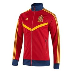 The adidas FEF Spain track top is perfect for the reigning World Cup champions. Get yours today at soccercorner.com