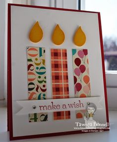From My Pad to Yours: Make a Wish. Birthday Candles