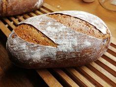 Základní celozrnný chléb FIT - 80% celozrnné mouky :: Svetzkvasku Bread, Food, Brot, Essen, Baking, Meals, Breads, Buns, Yemek