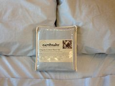 Earthsake-Organic-Cotton-Sheet set    100% Certified US-grown Organic Cotton Sheets by Earthsake!    Using local organic cotton - Naturally soft & luxurious, simple & pure. Match to Earthsake organic cotton duvet covers & shams made the same way with local organic ingredients. Made in the USA!  Exclusively by Earthsake!     Choose your Solid color sheet set in:  Sand (Natural)  Ocean (Blue)  Leaf (Sage)
