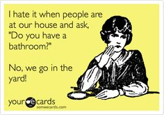 Funny Ecard: Well, what SHOULD I say??