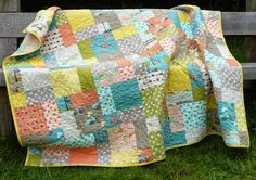 Here it is. The quilt I made from the Moda Bluebird Park layer cake is now finished and I am so pleased with the final result.Bluebird Park really is a most charming fabric collection featuring …