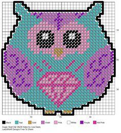 SUGAR SKULL OWL by LISA DAVIS                                                                                                                                                     Mais