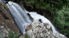 Cachoeira do Rio Barra Grande no interior de Porto União.