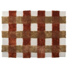 """M.A. Trading Kent Hand-Tufted Rust Area Rug Rug Size: 6'6"""" x 9'9"""""""