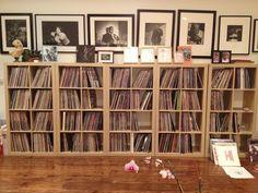Flea's record collection