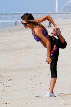 nothing like a beach workout...