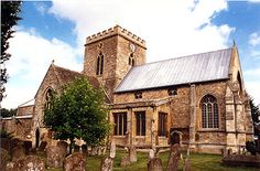 SS. Peter & Paul's Church, Wantage - © Nash Ford Publishing - Henry Cox and Mirraim Ferres married here in 1814