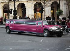 Purple Hummer Limo my life is completely Hummer Limo, Hummer H2, Limousine Car, All Things Purple, Girls Dream, Concept Cars, Military Vehicles, Luxury Cars, Dream Cars