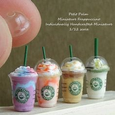 2017. Miniature Frappuccino ♡ ♡ By petit palm