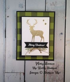 Merry Patterns - Merry Little Christmas DSP - Up North Stampin' - Mary Hanson Create Christmas Cards, Stampin Up Christmas, Noel Christmas, Merry Little Christmas, Xmas Cards, Handmade Christmas, Holiday Cards, Christmas 2017, Chrismas Cards