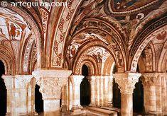Panteón de los Reyes. San Isidoro de León Medieval, Sacred Architecture, Romans, Barcelona Cathedral, Art Nouveau, Taj Mahal, Gothic, Iglesias, Building