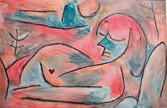 Winter's Dreampp, 1938, Paul Klee