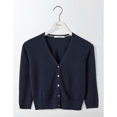 Moth Kirsten Cardigan ($118) ❤ liked on Polyvore featuring tops ...