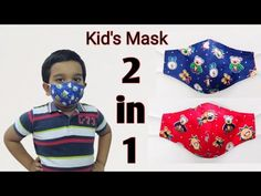 Face Mask for Kids | DIY Face mask for 5-8 years Old Kids | Kids Face Mask pattern | Kid's Face Mask - YouTube Diy Mask, Diy Face Mask, Mascarillas Peel Off, Old Faces, Face Masks For Kids, Simple Face, Small Sewing Projects, Child Face, 8 Year Olds